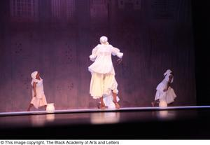 Primary view of object titled '[Dancers in white dresses]'.