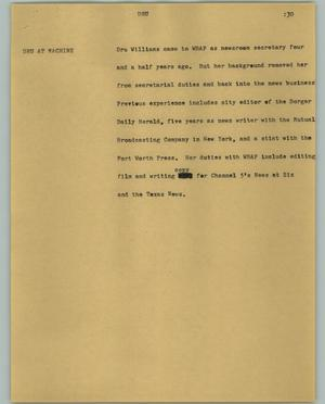 Primary view of object titled '[News Script: DRU]'.