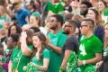 Photograph: [UNT Students in the stands]