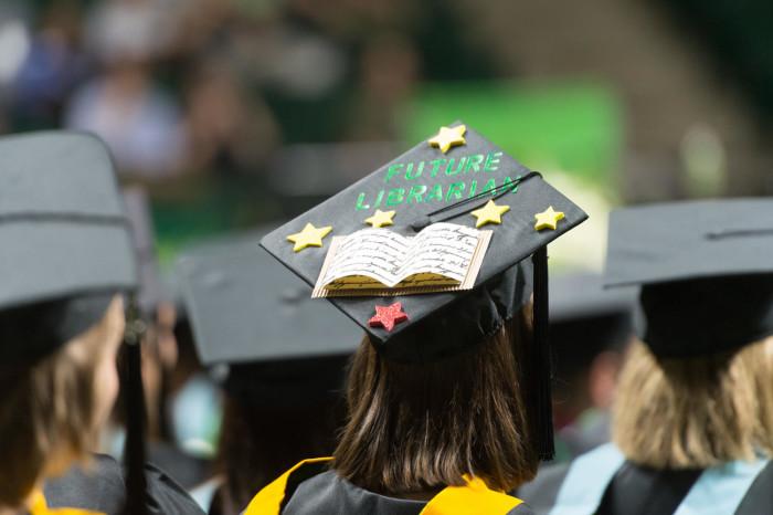 bb26bbb3b84 DescriptionBookmark this section. Photograph of a graduation cap ...