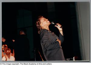 Primary view of object titled '[Black Music and the Civil Rights Movement Concert Photograph 23]'.
