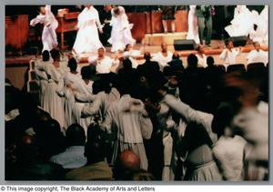 Primary view of object titled '[Black Music and the Civil Rights Movement Concert Photograph UNTA_AR0797-137-01-45]'.