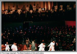 Primary view of object titled '[Black Music and the Civil Rights Movement Concert Photograph UNTA_AR0797-137-01-33]'.