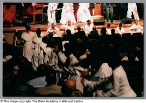 Primary view of object titled '[Black Music and the Civil Rights Movement Concert Photograph UNTA_AR0797-137-01-42]'.