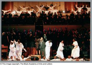 Primary view of object titled '[Black Music and the Civil Rights Movement Concert Photograph UNTA_AR0797-137-01-48]'.