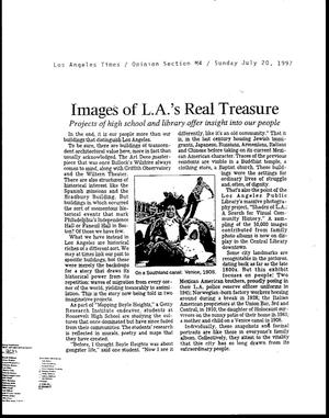 Primary view of Images of L.A.'s Real Treasure