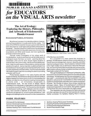Primary view of North Texas Institute for Educators on the Visual Arts newsletter, Summer 2000