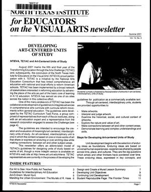 Primary view of North Texas Institute for Educators on the Visual Arts newsletter, Summer 2001