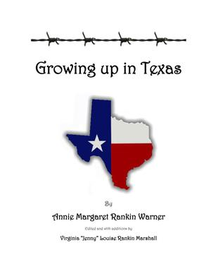 Primary view of object titled 'Growing up in Texas'.