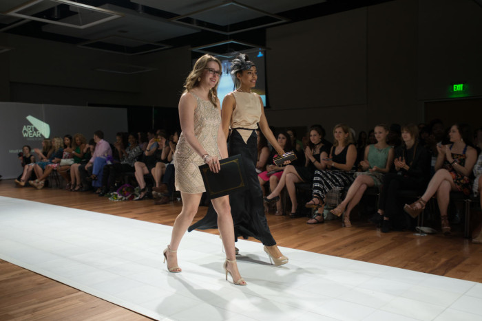 Fashion Design Student Wearing Creation On Runway The Portal To Texas History