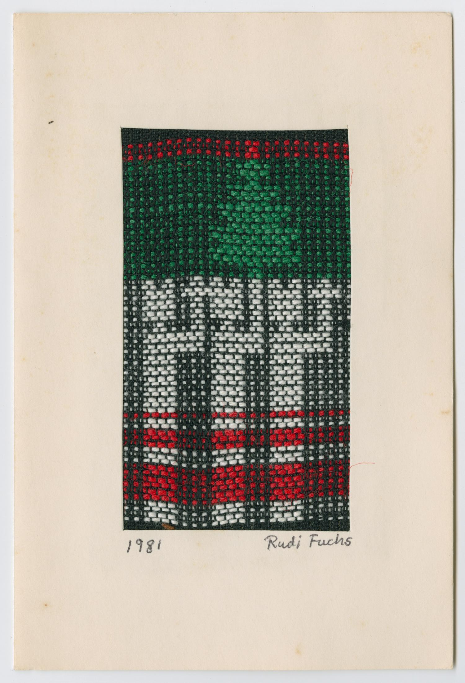 [Woven Christmas card]                                                                                                      [Sequence #]: 1 of 3