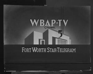 Primary view of object titled '[Ad for WBAP-TV Fort Worth]'.