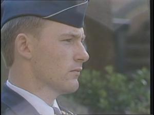 Primary view of [News Clip: Vietnam memorial]