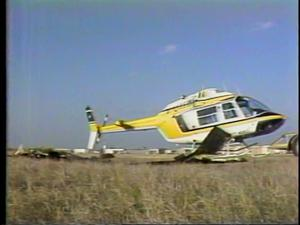 Primary view of [News Clip: Copter Crash]