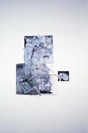 Primary view of object titled '[Geometric abstraction drawing by Claudia Betti]'.