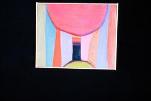 Acrylic painting by Claudia Betti, Slides, circa 1955-1982