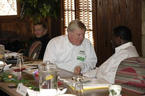 Dennis Kalk at 2007 College of Arts and Sciences Advisory Board planning retreat