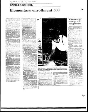 Primary view of [The Post-Signal, August 11, 1994]