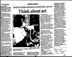 Primary view of object titled '[Fort Worth Star-Telegram article, July 1, 1992]'.