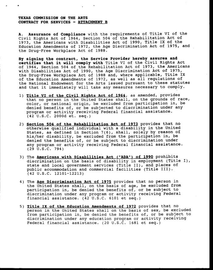 title ix of the education amendments act