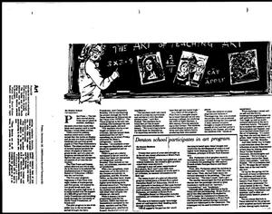 Primary view of object titled '[Denton Record-Chronicle articles, December 28, 1990]'.