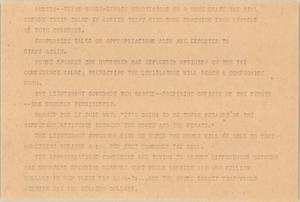 Primary view of object titled '[News Script: Austin Update]'.