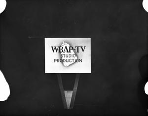 Primary view of [WBAP-TV Production Slide]