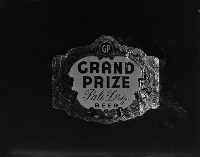 First side of: [Copy 'Grand Prize Trade Emblem'], a photograph available in the The Portal to Texas History