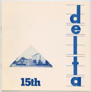 Primary view of object titled 'Delta'.