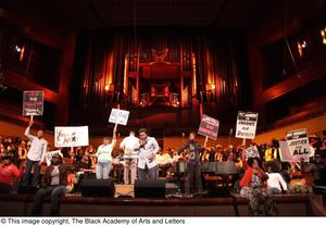 Primary view of object titled '[Black Music and the Civil Rights Movement Concert Photograph UNTA_AR0797-138-011-0013]'.