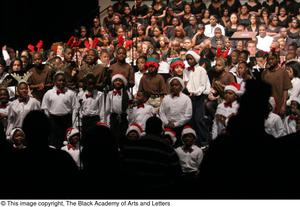 Primary view of object titled '[Christmas/Kwanzaa Concert Photograph UNTA_AR0797-147-045-0020]'.
