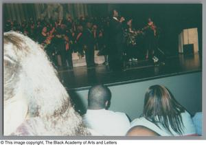 Primary view of object titled '[23rd Annual Black Music Concert]'.