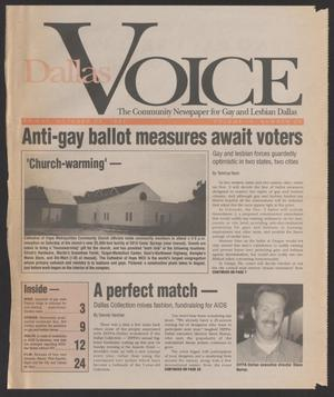 Primary view of object titled '[Clipping: Anti-gay ballot measures await voters]'.