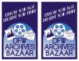 Text: [DFW Archives Bazaar promotional logos]