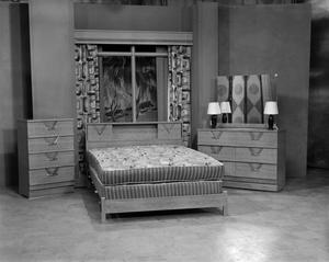 Primary view of object titled '[Bedroom set]'.