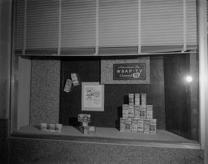 Primary view of [Vandervoort's Milk window display]