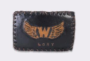 Primary view of [Leather patch for Flying W club]