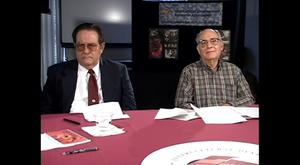 Primary view of [Roundtable Interview of Dr. Jose A. Cardenas, Dr. Maria R. Montecel, Alberto Vilareal, and Dr. Arcadia Lopez]