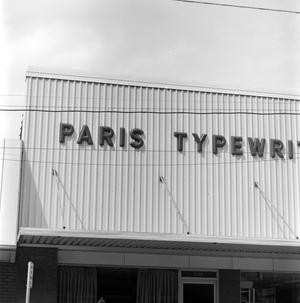 Paris Typewriters building, NBC News Photographs