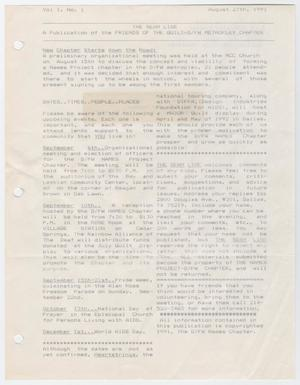 An old page with 2 sections of text at the top and several other sections of text on the rest of the page. The left margin of the page has three hole punches.