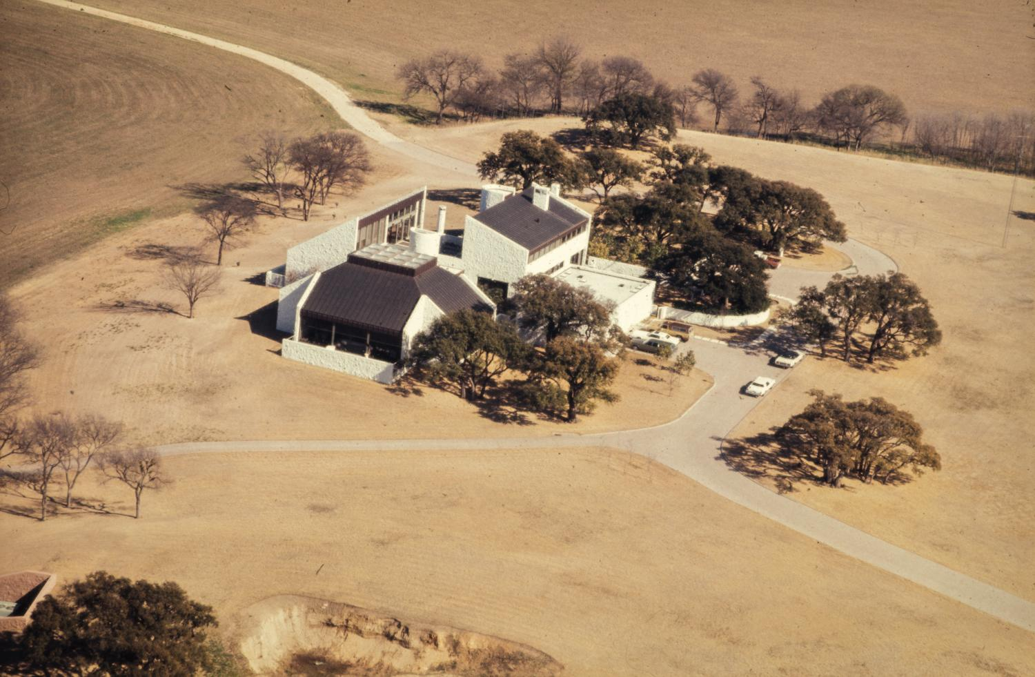 Aerial View Of The Stonegate Mansion The Portal To Texas History