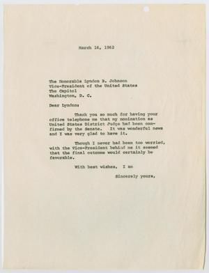 Una página blanca, con la fecha en la parte superior y una letra pequeña debajo, que  consta de dos párrafos.
