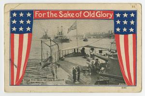 Primary view of object titled '[For the Sake of Old Glory]'.