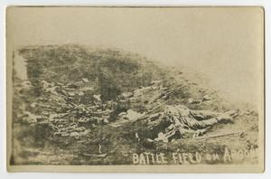 Primary view of object titled '[Battle field on Argonne]'.