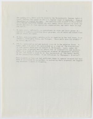 A white page with five paragraphs of text. The bottom half of it is blank.