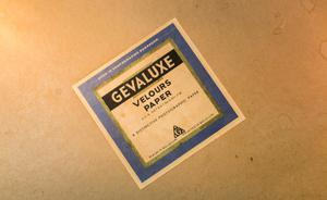 Photographic paper packets, UNT Special Collections Artifact Photography