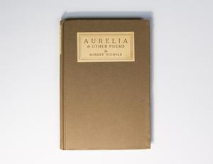A brown book cover, the title at the top of it in a white box.