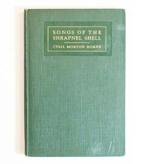 A green book cover, the title at the top fo the front in gold letters.