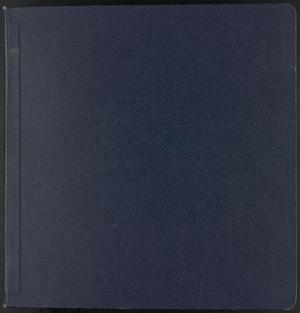 Primary view of object titled '[Scrapbook of John Briggs personal life and travel, 1987-1991]'.