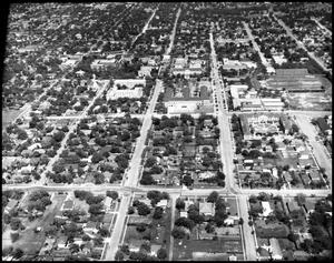 Primary view of object titled 'Campus - Aerial #1 - 5/1948'.